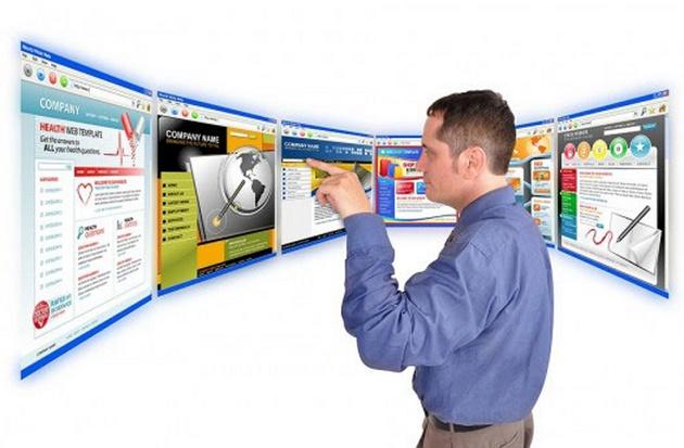 Веб-сайт для рекламы бизнеса